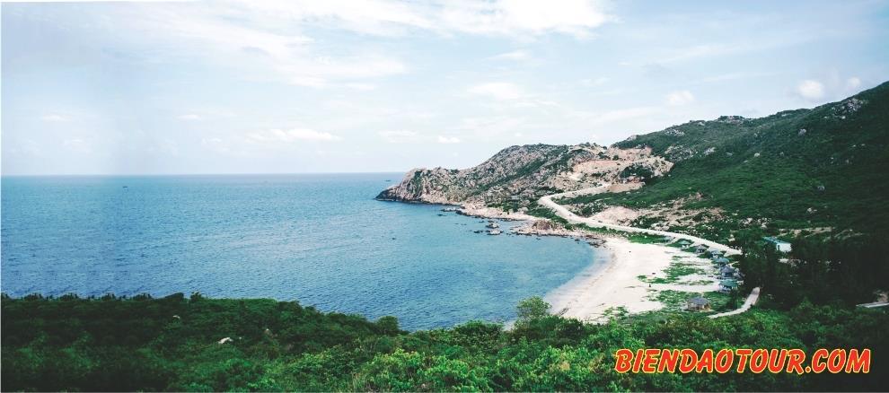 phong cảnh đảo Bình Ba