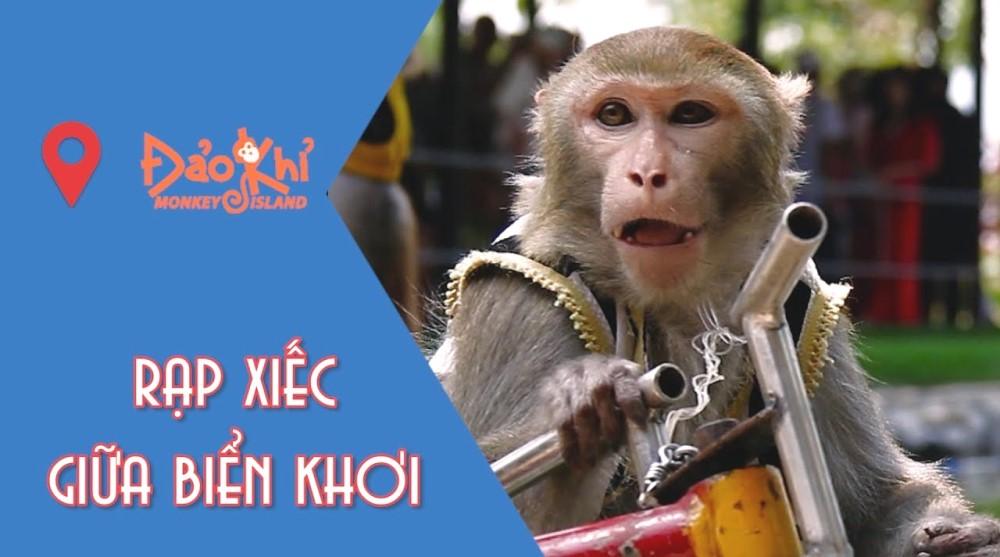 đảo khỉ và suối Hoa Lan Nha Trang