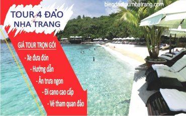 Du lịch 4 đảo Nha Trang