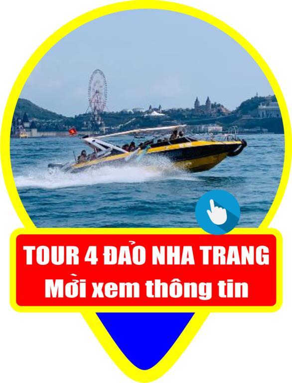 Tour 4 đảo Nha Trang tắm bùn Hòn Tằm
